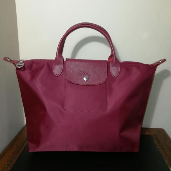 Longchamp Handbags - Longchamp NEO Medium Opera Red   d407b4a38e35f